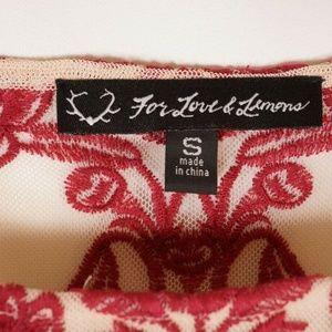 For Love And Lemons Dresses - For Love And Lemons Temecula Mini dress Sheer S